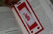 Personnalisé signet Saint Valentin