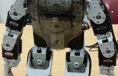 Créer une distance couleur suivi Robot Soccer CM-530