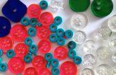 Lasercut boutons & perles