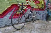Le cadre vélo imprimé de fibre de carbone 3D personnalisé