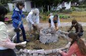 Le jardin communautaire de la spirale