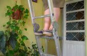 Improvisé des sabots de l'échelle (zuecos para escalera improvisados)