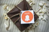 Cartes pop-up de Popcorn origami