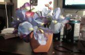 Caché de fleur haut-parleur