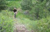 Bulid un sentier de vélo de montagne