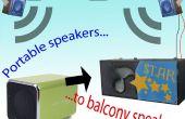 Haut-parleurs de balcon (PMB pt3)