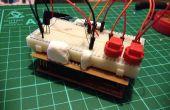 Bouclier de Prototype de Launchpad rapide facile et bon marché. MSP430