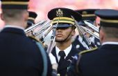 Un mouvement Facial exercices militaires