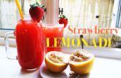 Comment faire de la limonade aux fraises