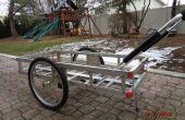 Pli-able chariot avec roues amovibles