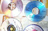 Dessins artistiques sur disques compacts