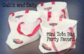 Comment à coudre rapide et facile Party Favor Mini fourre-tout