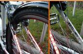 Blinky vélo un système d'éclairage pour les vélos