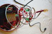 Alimenté par USB de sapin de Noël LED avec son