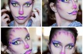 Cheshire cat maquillage inspiré