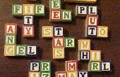 Comment faire votre propre pentominos de blocs Alphabet