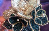 Bouquet de mariée de perles