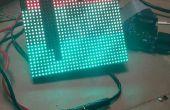 Raspberry Pi LED d'affichage de texte de défilement