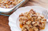 Crusty Peach Cobbler