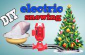 Comment faire bricolage électrique neige sapin