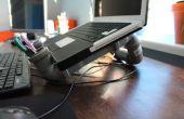 """Socle d'ordinateur portable de PVC $ 7 pour 13"""" macbook"""