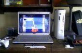 Comment jouer à une console sur un ordinateur portable (NTSC seulement)