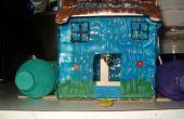 Maison et mangeoire d'oiseaux