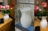 3D imprimés Valentin coeur Vase
