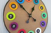 Play-Doh couvercle horloge