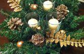 Table basse de vacances festive pièce maîtresse