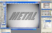 Texture de métal simple