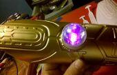 Sci Fi Style morceau de bras avec LED clignotant multicolores.