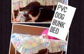 Lit superposé de PVC chien