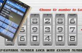 Linkit un BT - verrouillage numérique avec Custom nombre