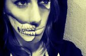 Partie de crâne visage maquillage Transformation