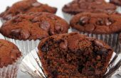 Recette de Muffins au chocolat double