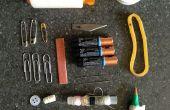 Rx pour les réparations - trousse d'urgence dans une bouteille