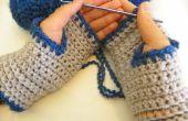 Cozy facile au Crochet, mitaines