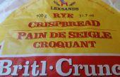 Restaurer le croustillant de pain croustillant de seigle