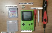 Game Boy Color remplacer haut-parleur