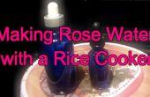 Comment faire de l'eau de Rose avec un cuiseur de riz