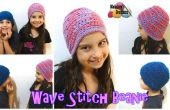 Vague de Stitch Beanie – Crochet patron gratuit