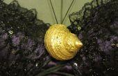 BRICOLAGE collier de coquillages Ursula (la petite sirène)