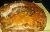 Fait maison recette de lasagne végétarienne dans la friteuse Airfryer Philips