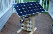 Internet Enabled Solar Tracker