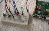 Linkit ONE: LED interrupteur à deux voies