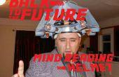 Retour vers le futur : casque de lecture de l'esprit de Doc Brown