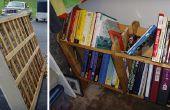 Section de livre : Recycler un caisson de matelas dans une étagère de livre !