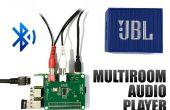 3 lecteurs audio à la 1 framboise Pi avec Bluetooth - une installation HiFi Multiroom facile
