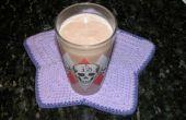 Smoothie de lait de soja au beurre d'arachide au chocolat